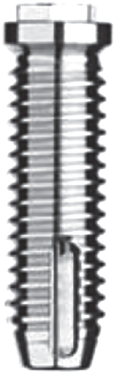 Figure 1: Original Branemark design